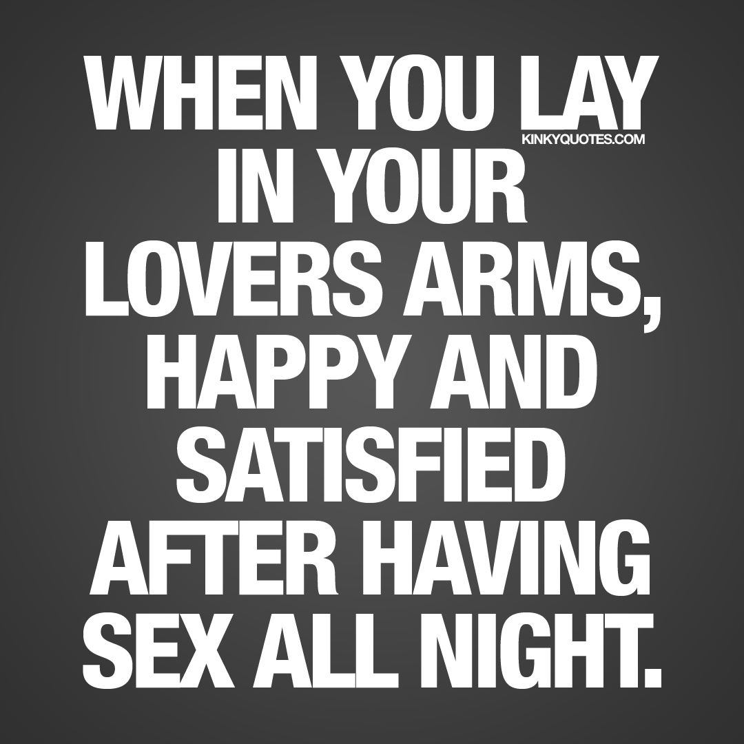 sex all night quotes