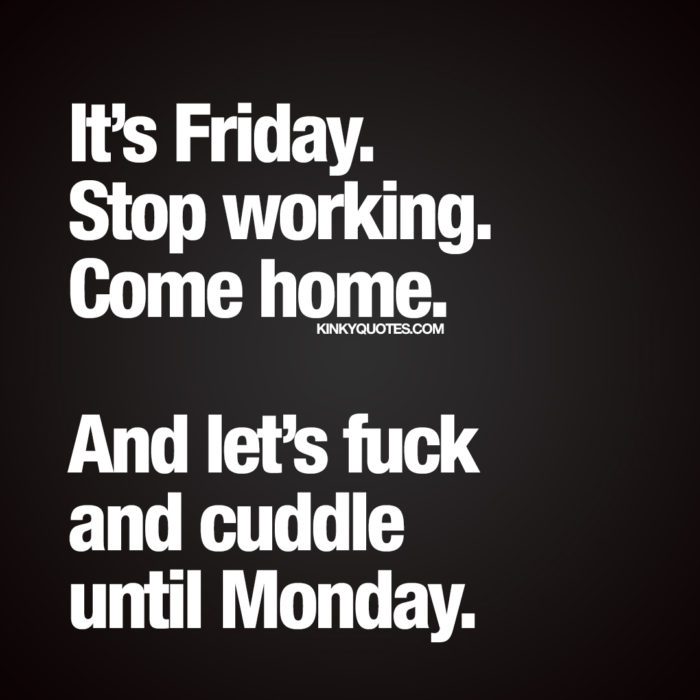Naughty Friday quote