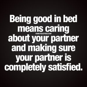 good in bed quote