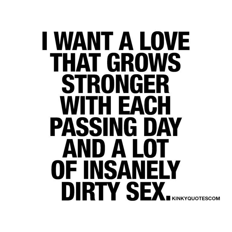 I want a love that grows stronger with each passing day