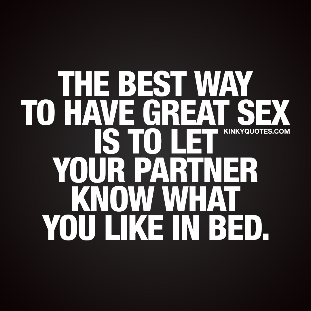 What is the best way of sex